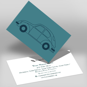 Kall Kwik Peterborough Double Sided Business Card BCDS
